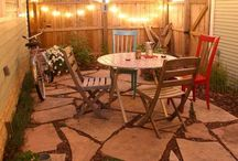 backyard ideas / by Colby O'Connor