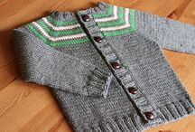 Top-down knits for kids