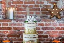 Cakes - Blush & Gold
