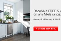 Miele Appliance Promos at Avenue Appliance / Make sure to ask about our Miele appliance promotions & more to see if your purchase is eligible for any discounts or rebates at Avenue Appliance Store in Edmonton, AB.