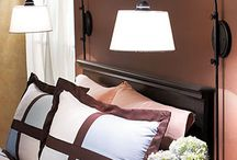 Bedside wall lamps