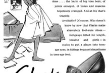 """Vintage Shoe Ads / Great Vintage footwear ads.  It's sort of scary when you recognize some...when they weren't """"Vintage""""!"""