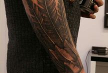 wing arm tattoo