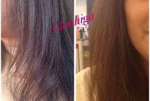 Cabelos / Tudo o que uso nos cabelos