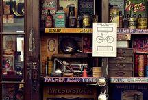Vintage Garage decoration