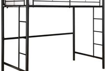 Bunk Beds- Loft Style / All types of bed frames, from twin to CA King, basic to fancy upholstered, canopy, loft style, trundle, bunk beds and more.