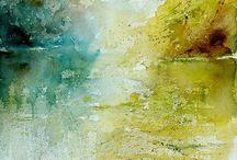 Brush strokes/Pottery / by K Marhefka-Pickens