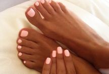 toes and nails