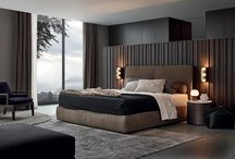 2015 Beds Collection / Poliform interprets contemporary private spaces: night-time interiors where wardrobes and walk-in closets become elements that define the architecture of the interior. A new concept of storage systems, offering the utmost compositional versatility and an exceptional variety of solutions for furnishing interiors.