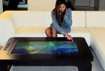 Coffee table computers / Coffee tables that are a fascinating computer idea.