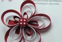 bows hair bows / by Cinderella Mckinsey