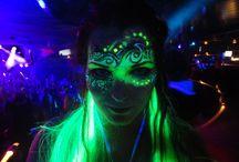 Make-up: UV/Blacklight
