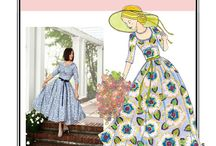 Patterns for the future / Sewing patterns I lust over/haven't yet purchased.