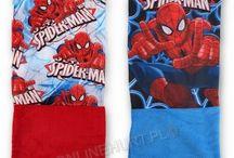 Rękawiczki i szaliki dziecięce Spiderman / http://onlinehurt.pl/?do_search=true&search_query=Spiderman
