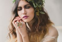 Floral Crowns and pins