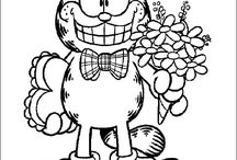coloring pages 39 (Garfield)