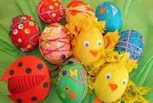Velikonoce - tvoření s dětmi / Velikonoce, jaro
