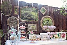 Party Themes and Decorations Ideas / Looking for Party theme and decorations ideas, here are some of my favorites from boho to beach to Alice in Wonderland