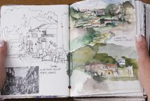szkicownik sketchbook