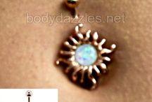 New and Trending Body Jewelry