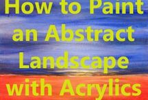 How to paint abstract