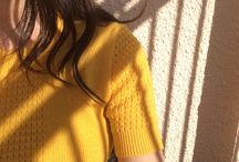 yellow / incredibly underrated color // feel the sunshine