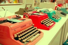 Typewriters / by TurquoiseDreaming@Etsy.com Sheree Brown
