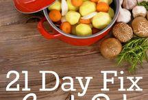 21 day fix eats