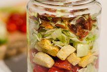 FOOD | Mason Jar Salads - Savory / by Brinda Howard