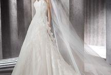 ZUZELA - A vonalú csipke esküvői ruha a Rosabella Szalonban