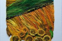 Fabric panels- πίνακες απο ύφασμα