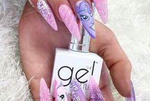 nail purple