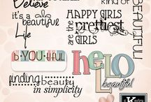 You Are Beautiful (A Fab4) Mini Kit by Kathryn Estry