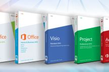 Microsoft Office 2013 / As with previous versions, Office 2013 is made available in several distinct editions aimed towards different markets. All traditional editions of Microsoft Office 2013 contain Word, Excel, PowerPoint and OneNote and are licensed for use on one computer.