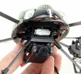 WL Toys V959 Quadcopter RC 4 Channel V989 - Future BattleShip Gatling Machine with Onboard Camera!