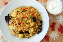 Indian Pulao Recipes / Pulao is a rice dish mixed with other ingredients.