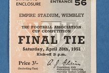Tickets / A selection of classic football match tickets from the National Football Museum collection.