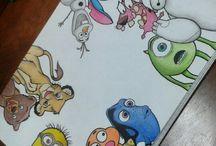 Disney e outros desenhos q amo