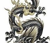 Various tattoos / Tattoos