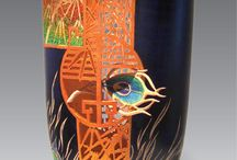 Fine Art Wood Sculpture / Fine art wood sculpture by artists represented at Habatat Galleries FL