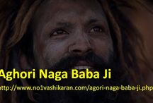 Aghori Naga Baba Ji / Aghori Naga Baba Ji is the well known astrologer and Vashikaran expert that can give you great solution of your problems like: love marriage problem, career.