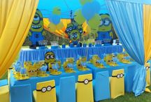 Minions birthday party decor