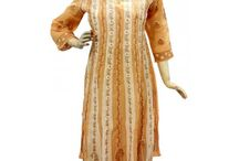 Lucknow Chikan Anarkalis