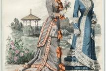 régi divat/old fashion / múlt századbeli öltözetek
