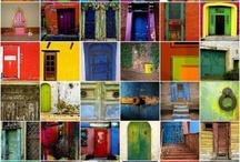 Deuren / Heb jij een mooie deur gezien? Pin 'm! Did you see a great door? Pin it!