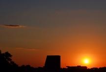 Pôr do sol / Minhas fotos