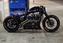 Sportsters / Customized Harley Davidson Sportsters
