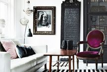 Living room / Sala luis xv moderna