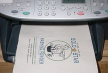 Home printing with freezer paper