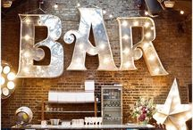 bar ideas for the rose shed